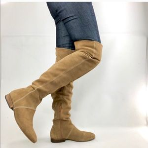 FREE PEOPLE THIGH HIGH BOOTS